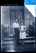 sisters posing together France 1934