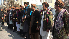 JAN 13 2013 Taliban militants attend a surrender ceremony