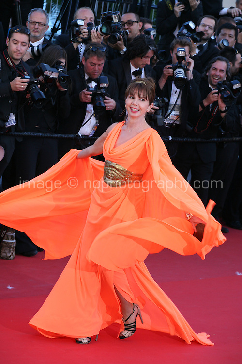 Victoria Abril at The Immigrant film gala screening at the Cannes Film Festival Friday 24th May May 2013