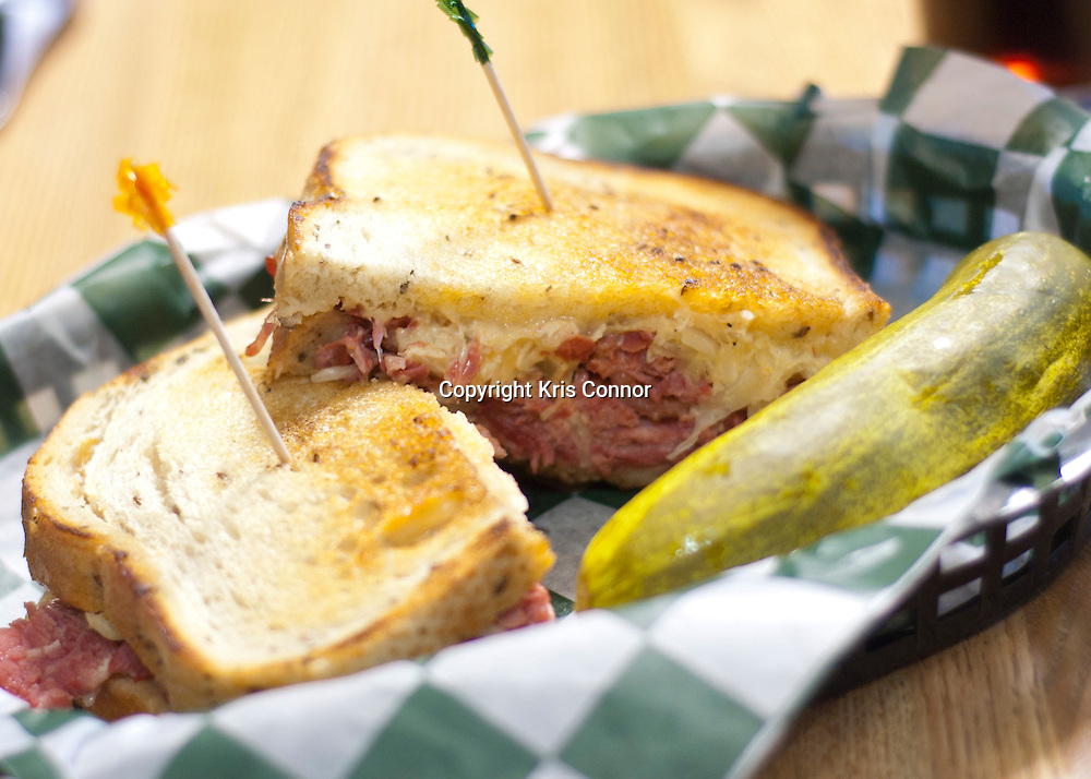 Classic Rueben served at Star and Shamrock  Tavern and Deli in Washington DC.