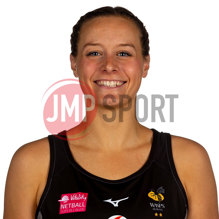 Josie Huckle of Wasps Netball - Mandatory by-line: Robbie Stephenson/JMP - 02/11/2019 - NETBALL - Ricoh Arena - Coventry, England - Wasps Netball Headshots