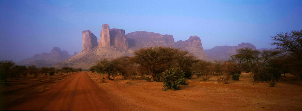 The road to timbuktu from the south.