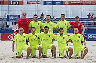 The Levante team have their photo taken at the Mundialito de Clubes 2015 in Rio de Janeiro. Foto: Marcello Zambrana/Divulgação