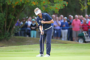 Bernhard Langer putts on the 13th during The Senior Open Championship, Sunningdale Golf Club, Sunningdale, United Kingdom on 23 July 2015. Photo by Phil Duncan.