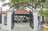 Domino Park in Little Havana, Miami.