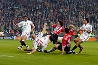 Fotball<br /> Foto: ProShots/Digitalsport<br /> NORWAY ONLY<br /> <br /> UEFA Champions League<br /> PSV Eindhoven - AC Milan<br /> 04-05-2005<br /> <br /> Ji-Sung Park maakt de 1-0