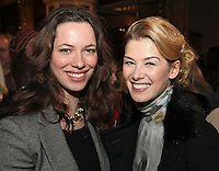 Rebecca Hall and Rosamund Pike