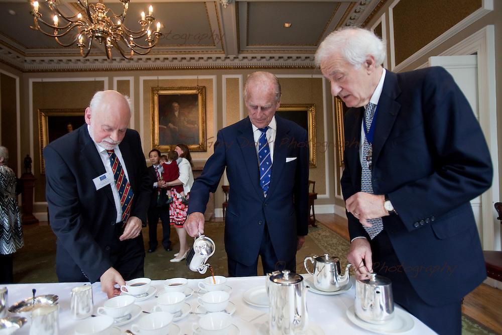 HRH The Duke of Edinburgh presents RSE Royal Medals to leading Scottish chemist, Sir Fraser Stoddart, and Scotland's foremost composer, Dr James MacMillan;.Monday 9 August, Edinburgh