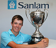 CAPE TOWN, SOUTH AFRICA, Monday 27 February 2011, Dylan Raubenheimer of Paul Roos Gimnasium, won the Proudfoot trophy during the Sanlam SA Amateur Championship held at the Mowbray Golf Club..Photo by Roger Sedres/ImageSA