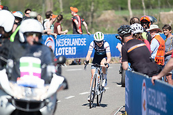 Elisa Longo-Borghini (ITA) of Trek-Segafredo leads up on the Bemelerberg during the Amstel Gold Race - Ladies Edition - a 126.8 km road race, between Maastricht and Valkenburg on April 21, 2019, in Limburg, Netherlands. (Photo by Balint Hamvas/Velofocus.com)