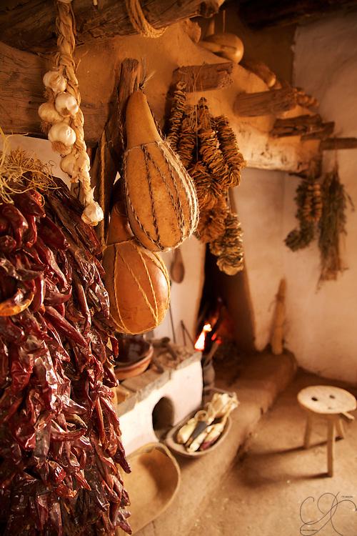The living quarters of Manual Baca y Delgado that established the El Rancho De Las Golondrinas.