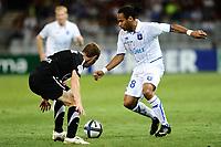 FOOTBALL - FRENCH CHAMPIONSHIP 2010/2011 - L1 - AJ AUXERRE v VALENCIENNES FC - 21/08/2010 - PHOTO GUY JEFFROY / DPPI - ROY CONTOUT (AUX)