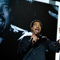 Lionel Ritchie live in concert at the SECC.