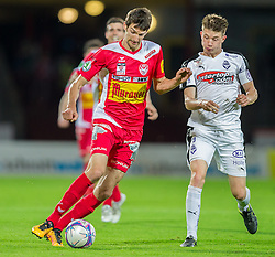 25.05.2016, Franz Fekete Stadion, Kapfenberg, AUT, 2. FBL, KSV 1919 vs SV Austria Salzburg, 36. Runde, im Bild Philipp Wendler (KSV 1919), Matthias Oettl (SV Austria Salzburg) // during the Austrian Erste Liga Match, 36th Round, between KSV 1919 and SV Austria Salzburg at the Franz Fekete Stadium, Kapfenberg, Austria on 2016/05/25, EXPA Pictures © 2016, PhotoCredit: EXPA/ Dominik Angerer
