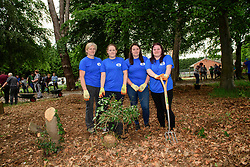 Pictured is colleagues from Bardney food store, from left, Travey Hewson, Katie Fryer, Alex Hopkins and Hayley Smith<br /> <br /> Lincolnshire Co-op colleagues and volunteers from the local community have been helping look after the Hartsholme area of Lincoln by taking part in the ongoing Big Co-op Clean.<br /> <br /> Picture: Chris Vaughan Photography for Lincolnshire Co-op<br /> Date: June 4, 2019