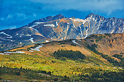 The Alpine region of the Canadian Rocky Mountains.  Sunshine Meadows. <br /> <br /> Alberta<br /> Canada