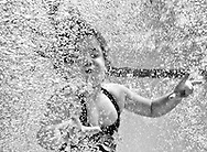 6/29/2013: Underwater BW portraits at community pool in Pearland, Texas. Photo by Thomas B. Shea/ TBS Photography