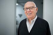 Ellsworth Kelly, At his up state studios,NY, 16th Nov 09, shot by Tim Knox