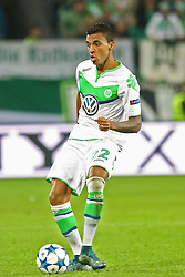 21.10.2015, Volkswagen Arena, Wolfsburg, GER, UEFA CL, VfL Wolfsburg vs PSV Eindhoven, Gruppe B, im Bild Luiz Gustavo (#22, VfL Wolfsburg) // during UEFA Champions League group B match between VfL Wolfsburg and PSV Eindhoven at the Volkswagen Arena in Wolfsburg, Germany on 2015/10/21. EXPA Pictures © 2015, PhotoCredit: EXPA/ Eibner-Pressefoto/ Hundt<br /> <br /> *****ATTENTION - OUT of GER*****