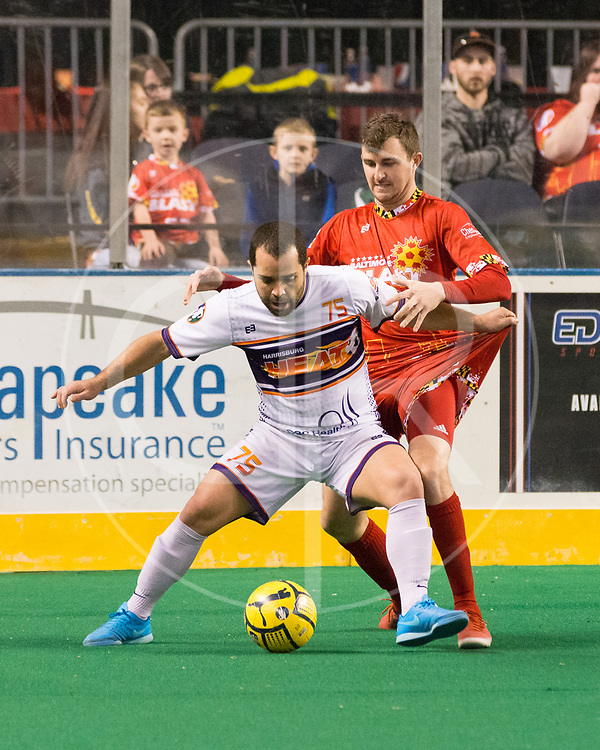 The Baltimore Blast defeat the Harrisburg Heat 11-3