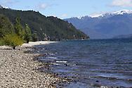 Lago Lacar, Lake Lacar, Quilaquina, Neuquén Province, Argentina, Patagonia