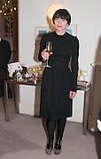 GOSHKA MACUGA, Valeria Napoleone hosts a dinner at her apartment e to celebrate the publication of her book  Valeria Napoleone's Catalogue of Exquisite Recipes. Palace Green. Kensington. London. 28 September 2012.