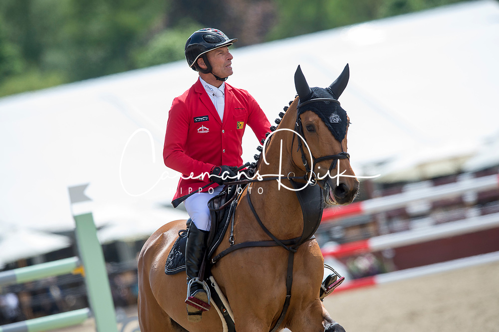 Schwizer Pius, SUI, Chidame Z<br /> CSI5* Jumping<br /> Royal Windsor Horse Show<br /> © Hippo Foto - Jon Stroud