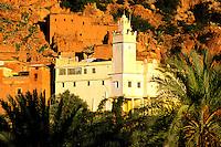 Maroc, Anti Atlas, Region de Tafraoute, village de Oumesnat // Morocco, Anti Atlas region, Tafraoute, Oumesnat village