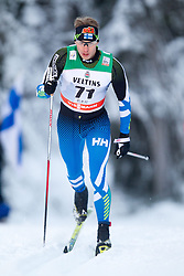 30.11.2014, Nordic Arena, Ruka, FIN, FIS Weltcup Langlauf, Kuusamo, 15 km Herren, im Bild Anssi Pentsinen (FIN) // Anssi Pentsinen of Finland during Mens 15 km Cross Country Race of FIS Nordic Combined World Cup at the Nordic Arena in Ruka, Finland on 2014/11/30. EXPA Pictures © 2014, PhotoCredit: EXPA/ JFK