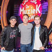 NLD/Almere/20170918 - Presentatie Lang Leve de Muziek Show, Vinchenzo, Noah Zeeuw, en Kaj van der Voort