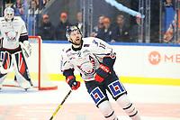2018-09-22 | Växjö, Sweden: Linköping HC James Wright (18) during the game between Växjö and Linköping at Vida Arena ( Photo by: Fredrik Sten | Swe Press Photo )<br /> <br /> Keywords: Ice hockey, Växjö, SHL, Växjö, Linköping, Vida Arena