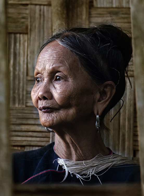A Lanten woman in Luang Namtha, Laos.