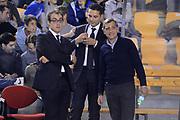 DESCRIZIONE : Roma Lega A 2012-13 Acea Roma Juve Caserta<br /> GIOCATORE : Claudio Toti Carotti Alberani Nicola<br /> CATEGORIA : curiosita ritratto<br /> SQUADRA : Acea Roma<br /> EVENTO : Campionato Lega A 2012-2013 <br /> GARA : Acea Roma Juve Caserta<br /> DATA : 28/10/2012<br /> SPORT : Pallacanestro <br /> AUTORE : Agenzia Ciamillo-Castoria/GiulioCiamillo<br /> Galleria : Lega Basket A 2012-2013  <br /> Fotonotizia : Roma Lega A 2012-13 Acea Roma Juve Caserta<br /> Predefinita :