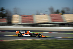 February 27, 2017 - FERNANDO ALONSO (ESP) drives on the track during day 1 of Formula One testing at Circuit de Catalunya, Spain (Credit Image: © Matthias Oesterle via ZUMA Wire)