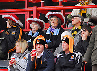 Photo: Leigh Quinnell/Sportsbeat Images.<br /> Charlton Athletic v Hull City. Coca Cola Championship. 22/12/2007. Santas helpers make it along to the Charlton to support Hull.
