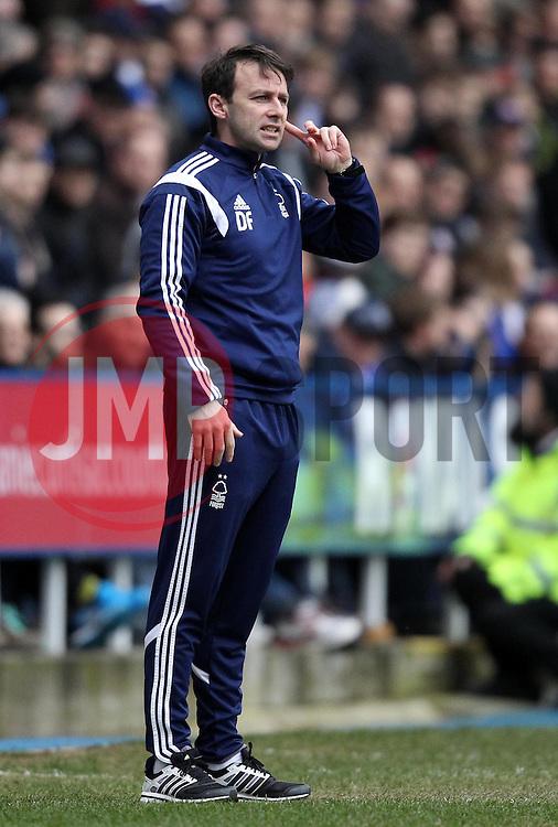 Nottingham Forest Manager Dougie Freedman - Photo mandatory by-line: Robbie Stephenson/JMP - Mobile: 07966 386802 - 28/02/2015 - SPORT - Football - Reading - Madejski Stadium - Reading v Nottingham Forest - Sky Bet Championship