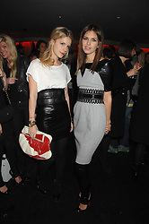 Left to right, EUGENIE NIARCHOS and DASHA ZHUKOVA close friend of Roman Abramovich at a party to celebrate the launch of the Kova & T fashion label and to re-launch the Harvey Nichols Fifth Floor Bar, held at harvey Nichols, Knightsbridge, London on 22nd November 2007.<br /><br />NON EXCLUSIVE - WORLD RIGHTS
