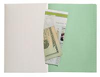 notebook envelope wallet