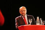 Mannheim. 19.09.17 | SPD-Kanzlerkandidat Martin Schulz im Capitol Mannheim.<br /> Im Wahlkampf zur Bundestagswahl unterstützt Kanzlerkandidat Martin Schulz Mannheims SPD Bundestagsabgeordneter Stefan Rebmann.<br /> <br /> <br /> BILD- ID 2387 |<br /> Bild: Markus Prosswitz 19SEP17 / masterpress (Bild ist honorarpflichtig - No Model Release!)