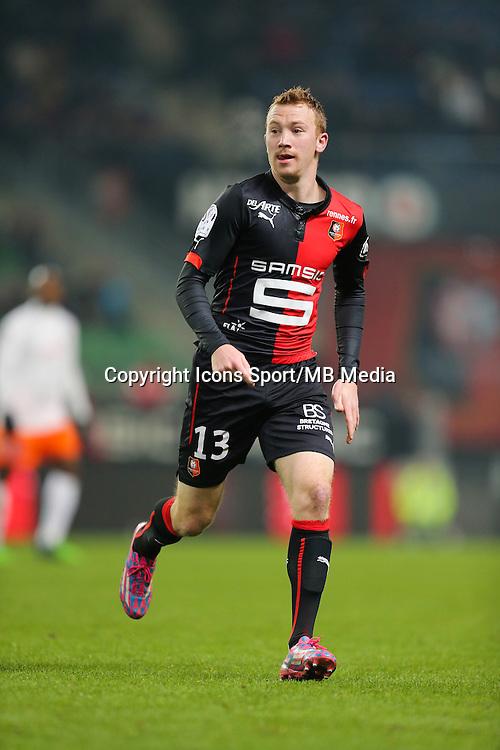 Christian BRULS - 06.12.2014 - Rennes / Montpellier - 17eme journee de Ligue 1 -<br />Photo : Vincent Michel / Icon Sport