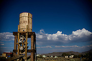 Photo by Matt Roth<br /> <br /> Water does flow in the desert! &hellip;from The Molossian Water Tower!