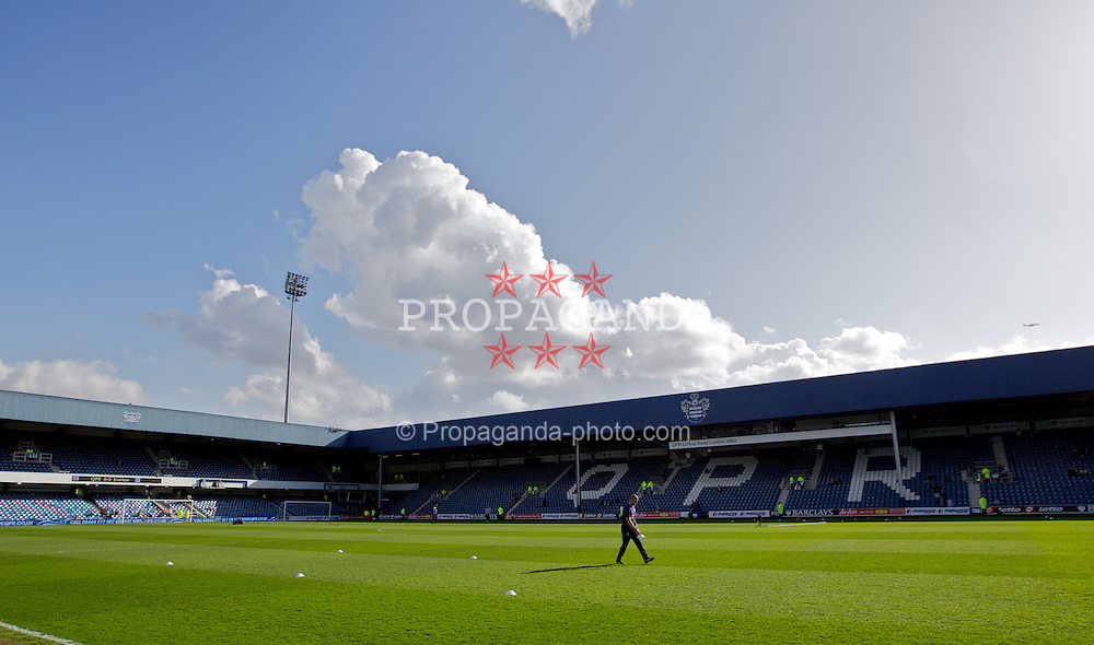 LONDON, ENGLAND - Saturday, March 3, 2012: A general view of Loftus Road before the Premiership match between Queens Park Rangers and Everton. (Pic by Vegard Grott/Propaganda)