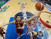 DESCRIZIONE : Vilnius Lithuania Lituania Eurobasket Men 2011 Second Round Georgia Macedonia Georgia FYR of Macedonia<br /> GIOCATORE : Predrag Samardziski <br /> SQUADRA : Macedonia FYR of Macedonia<br /> EVENTO : Eurobasket Men 2011<br /> GARA : Georgia Macedonia Georgia FYR of Macedonia<br /> DATA : 08/09/2011 <br /> CATEGORIA : rimbalzo rebound special<br /> SPORT : Pallacanestro <br /> AUTORE : Agenzia Ciamillo-Castoria/Y.Matthaios<br /> Galleria : Eurobasket Men 2011 <br /> Fotonotizia : Vilnius Lithuania Lituania Eurobasket Men 2011 Second Round Georgia Macedonia Georgia FYR of Macedonia<br /> Predefinita :