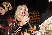"""ROXY, The Veuve Clicquot Widow Series, """"A Beautiful Darkness"""" curated by Nick Knight and SHOWstudio, The College, Southampton Row, London, WC1. 28 October 2015"""