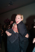 GWENDOLINE CHRISTIE; DAVID BAILEY, Opening of Bailey's Stardust - Exhibition - National Portrait Gallery London. 3 February 2014
