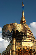 "Wat Doi Suthep - or its official name Wat Phrathat Doi Suthep is a Theravada Buddhist temple in Chiang Mai, Thailand. The temple is often referred to as simply ""Doi Suthep"" although this is actually the name of the mountain it is located on. The temple is a sacred site to many Thai people."