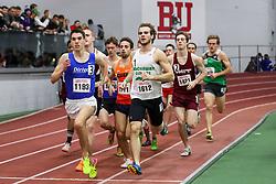 BU Terrier Indoor track meet<br /> Matt Jacobson, Dirigo RC, leads Mile