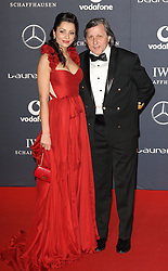 ILLE NASTASIE arrives at the Laureus Sport Awards held at the Queen Elizabeth II Centre, London, Monday February 6, 2012. Photo By i-Images