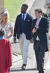 © Licensed to London News Pictures. 19/05/2018. London, UK. Former gangster KARL LOKKO, arrives at The wedding of Prince Harry, The Duke of Sussex to Meghan Markle, The Duchess of Sussex, at St George's Chapel in Windsor. Photo credit: Ben Cawthra/LNP
