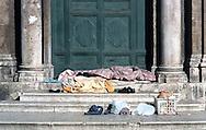 Roma  2005 .Piazza della Chiesa Nuova.